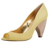 Sapato Salto Cone