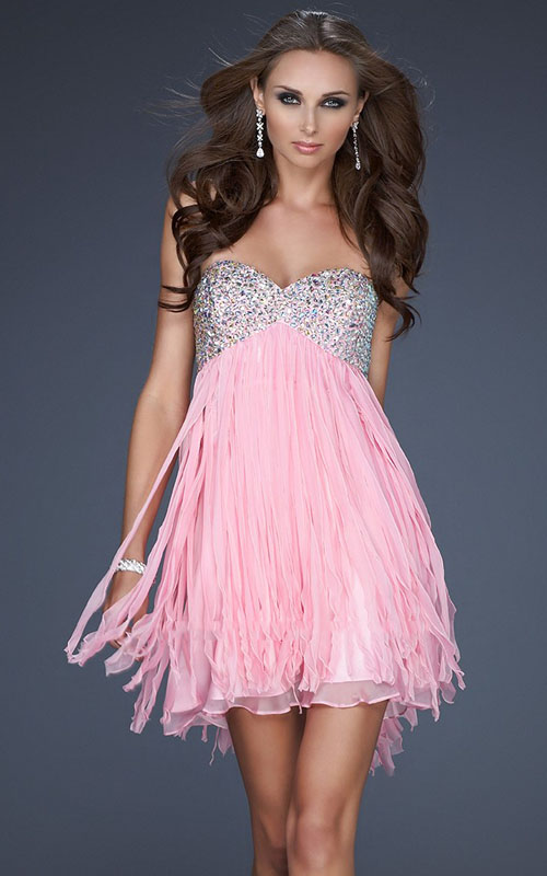 Pink Prom Dresses 2013 homecoming dazl...
