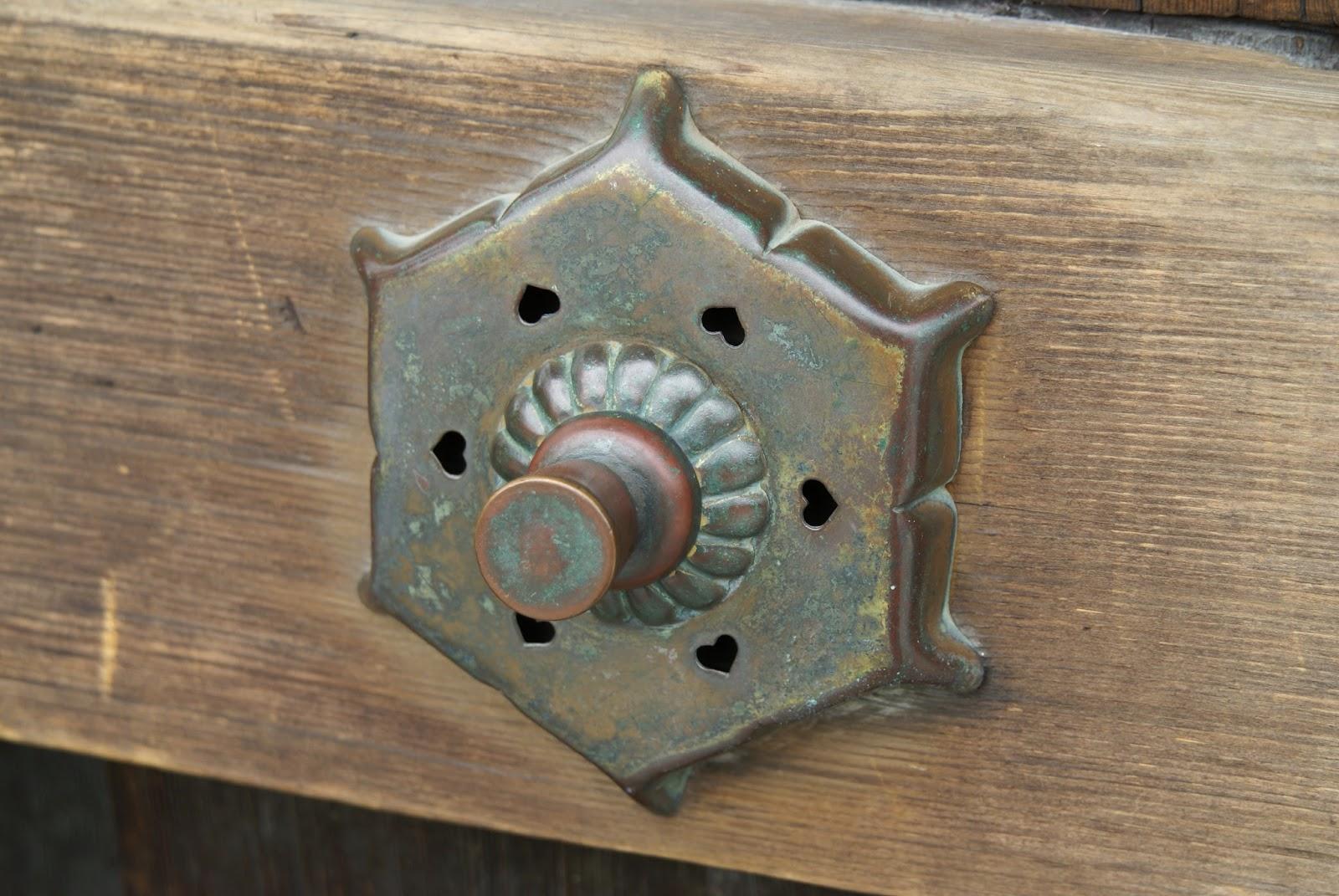 clou japonais en bronze
