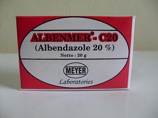 Albenmer - C.20 (Obat Cacing)