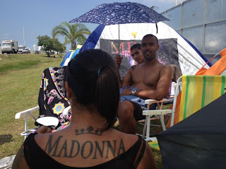 MDNA Tour: 19 pessoas já estão acampadas no Rio para ver Madonna