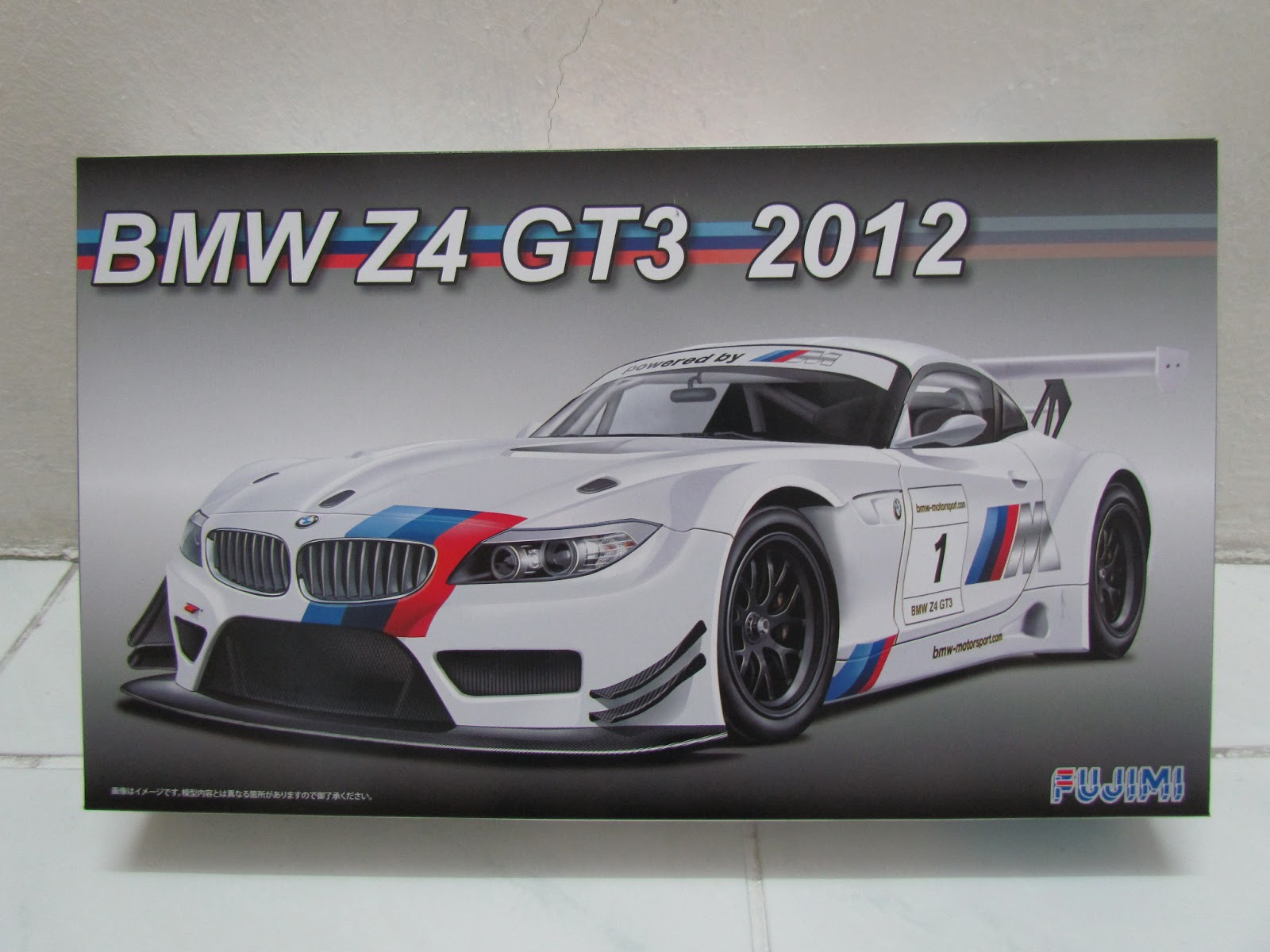 Mha Hobby For Sale Model Kit 1 24 Bmw Z4 Gt3 2012