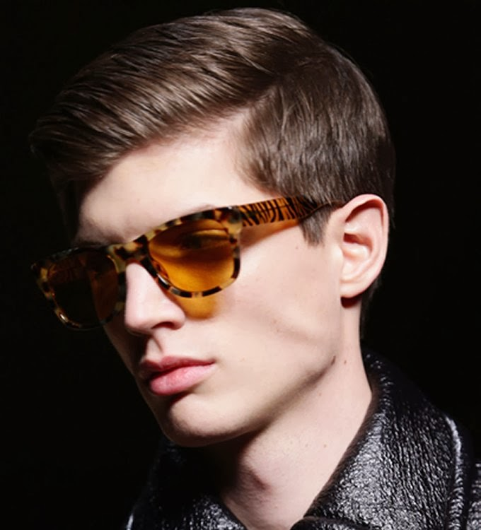 Short Hairstyles For Men with Glasses