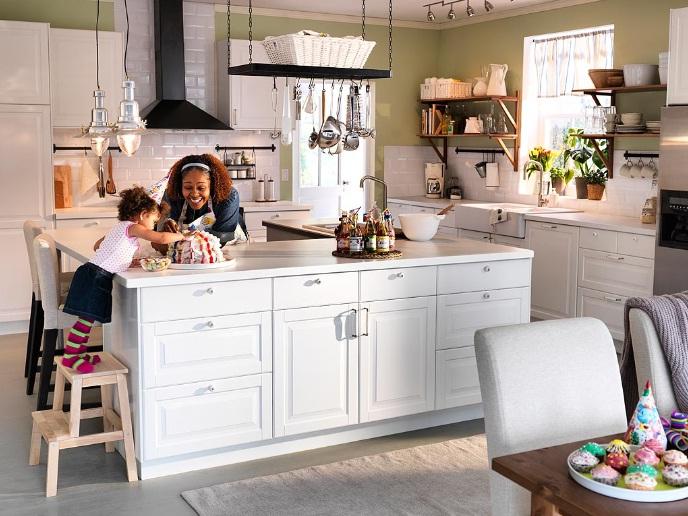 Można je tylko przeżyć Dom Moich Marzeń cz V  Kuchnia -> Kuchnia Ikea Wyspa