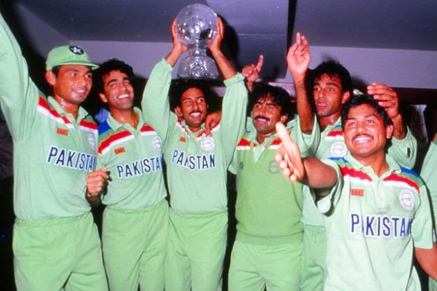 Pakistan 1992 World Cup Champion