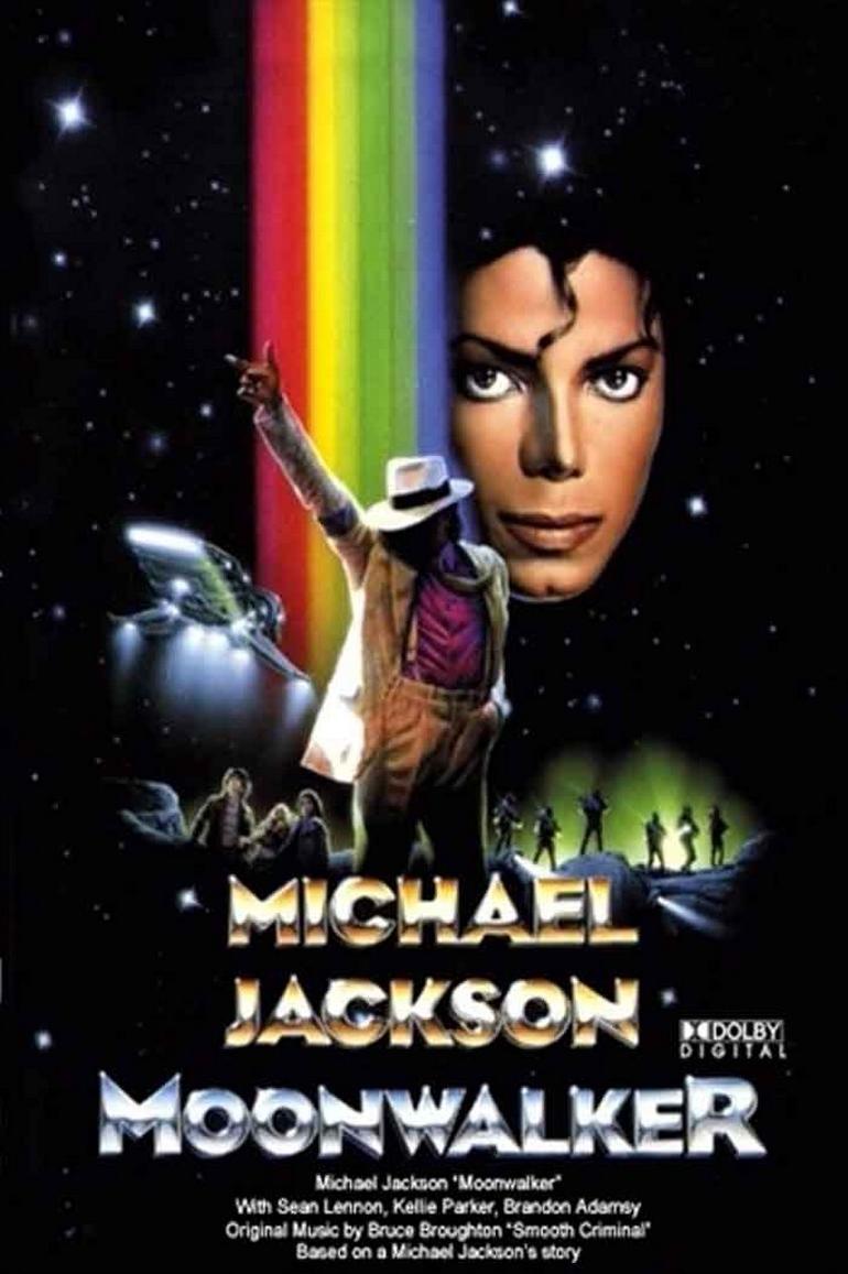 Filme Michael Jackson Moonwalker Dublado AVI DVDRip