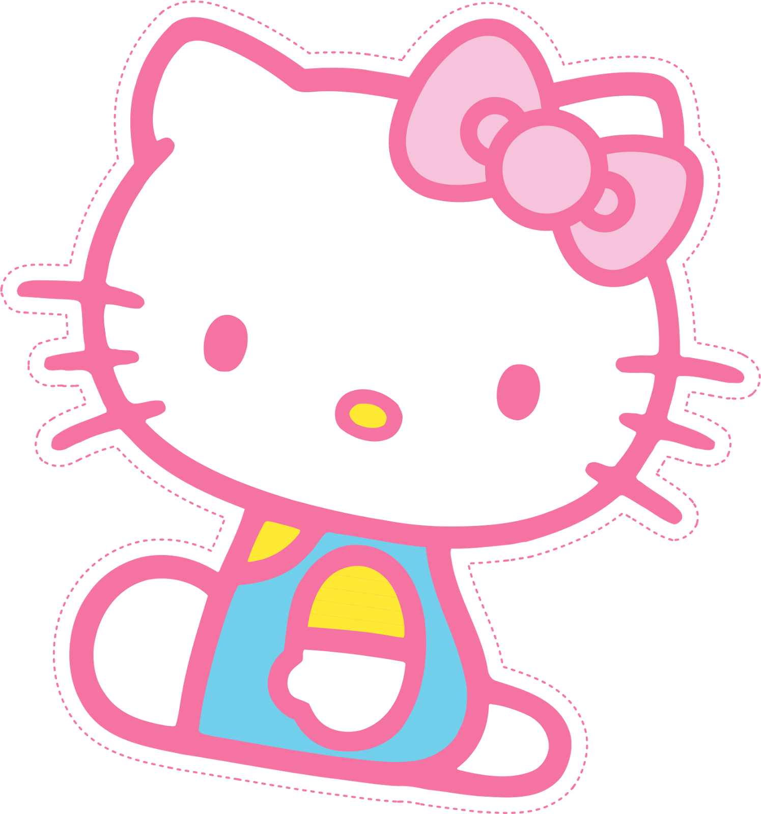 Hello kitty free printable mini kit oh my fiesta in english - Hello kitty image ...