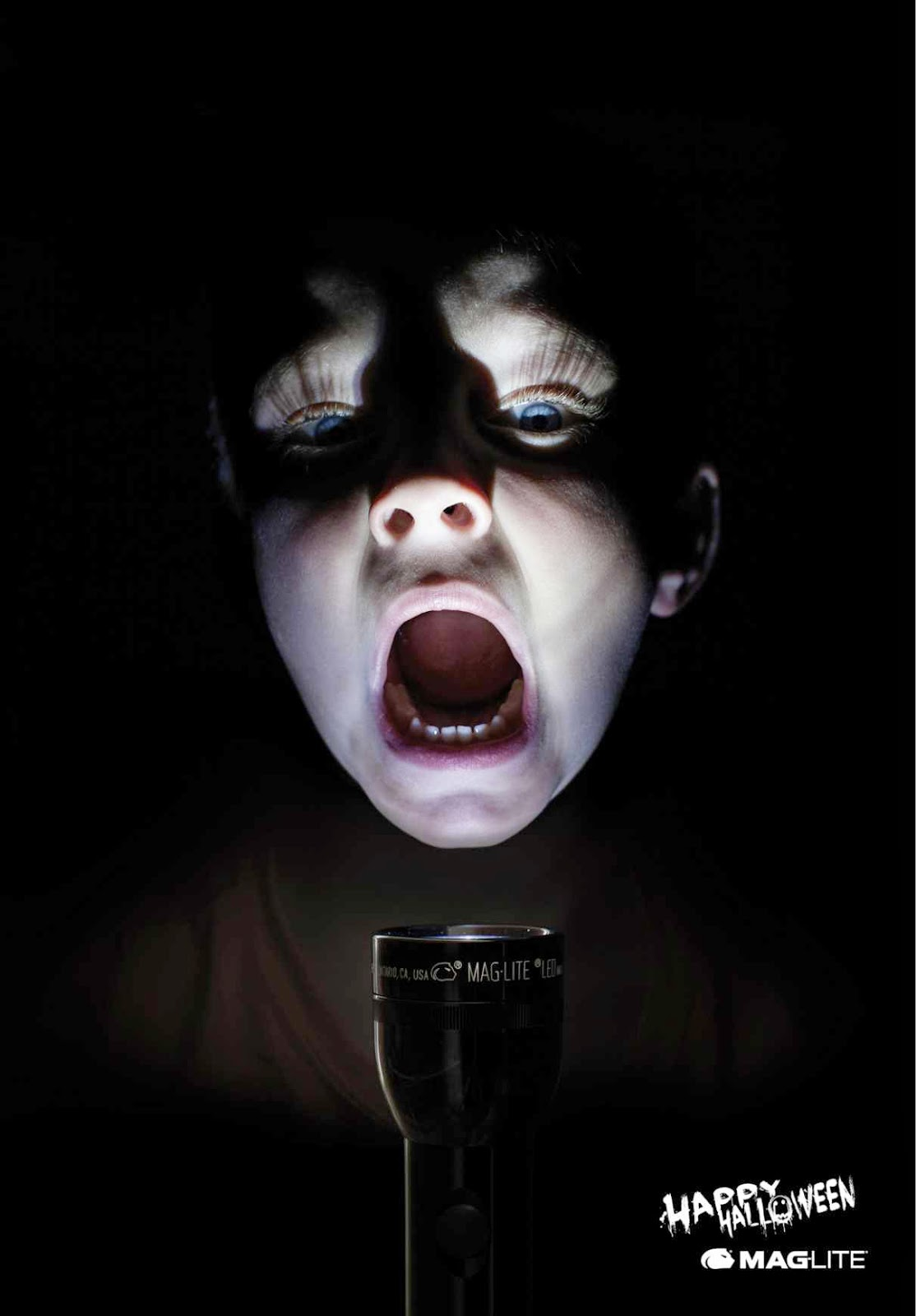 Maglite Halloween ad