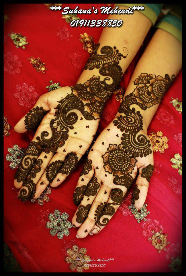 Arabic Mehndi Design 2012