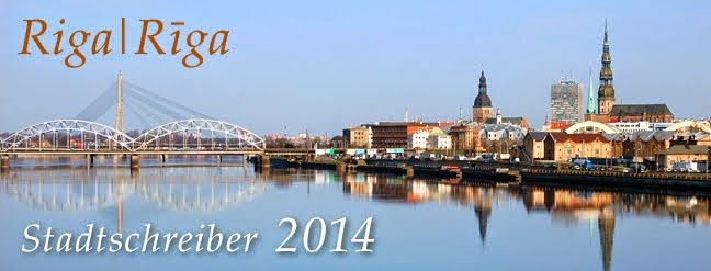 Stadtschreiber Riga/Rīga 2014