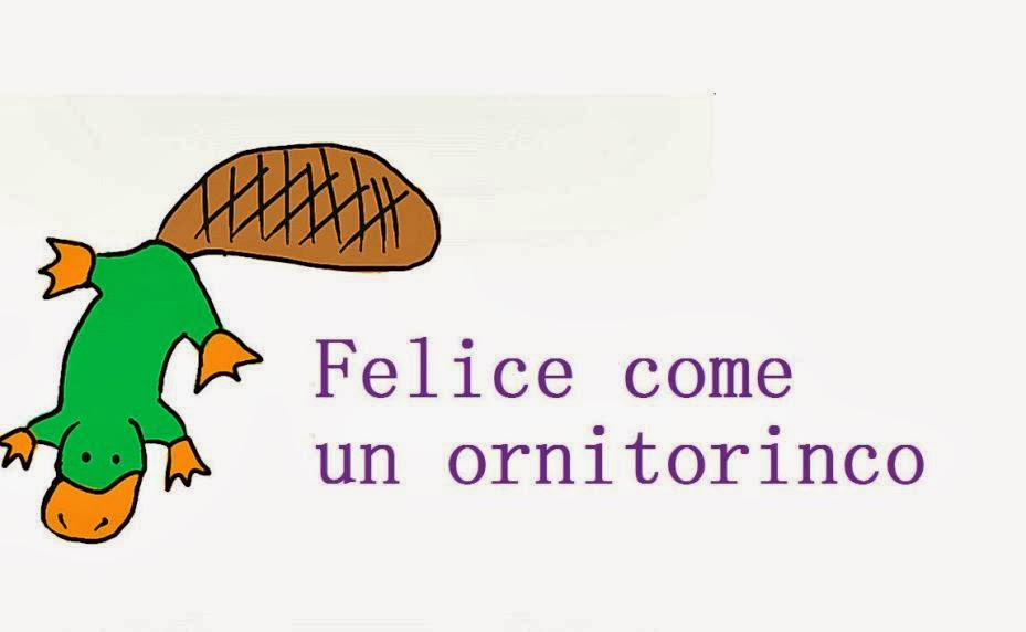 Felice come un ornitorinco