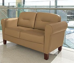 Jarvis Reception Sofa by Global