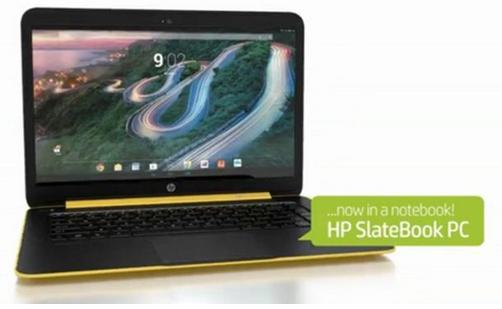 Laptop Pertama Dengan OS Android