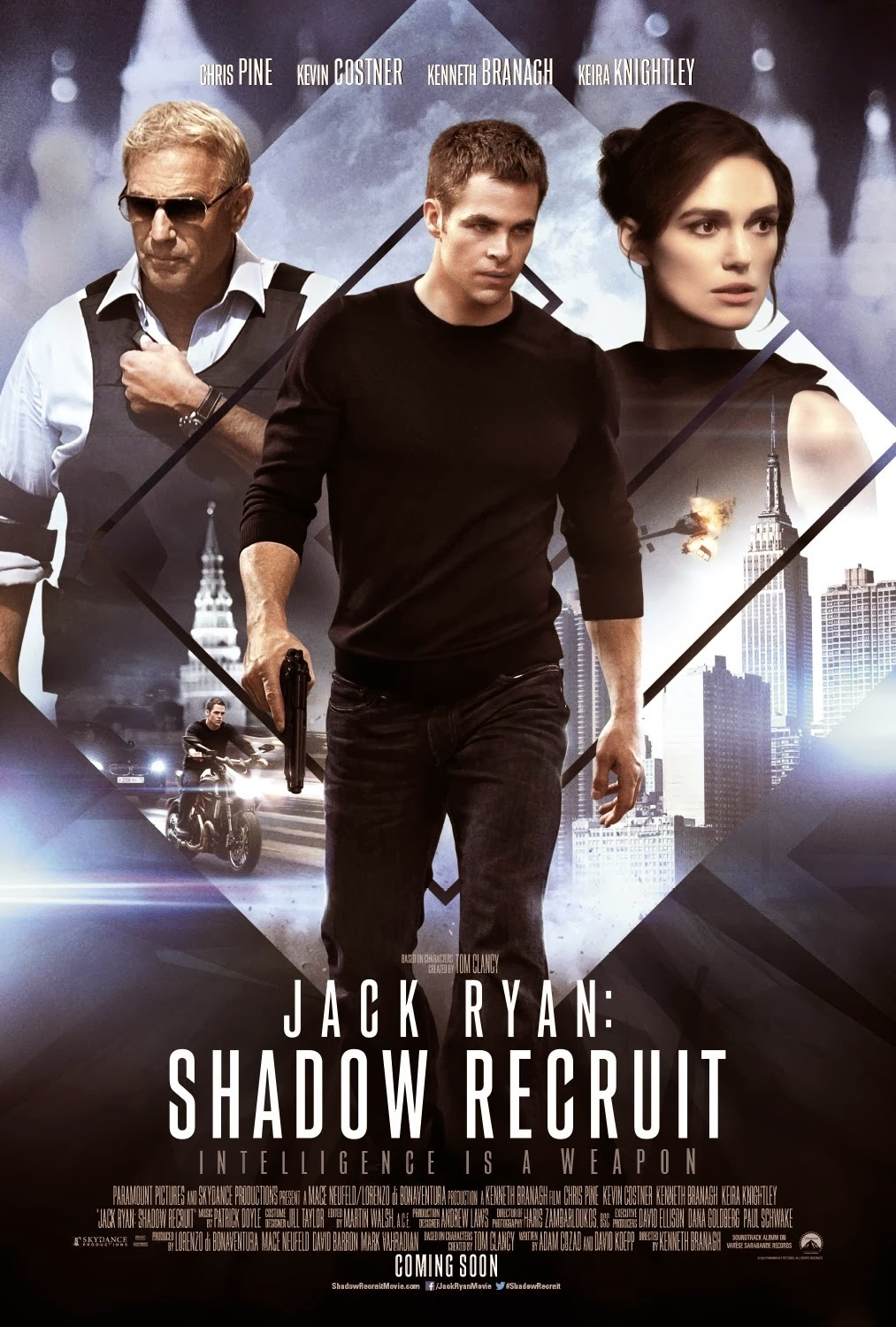 Jack Ryan Shadow Recruit (2014)