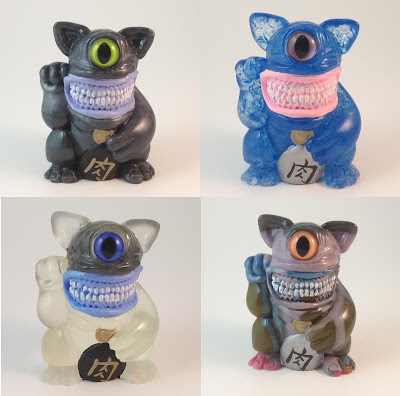 Meatfortune Cat Resin Figures by Motorbot