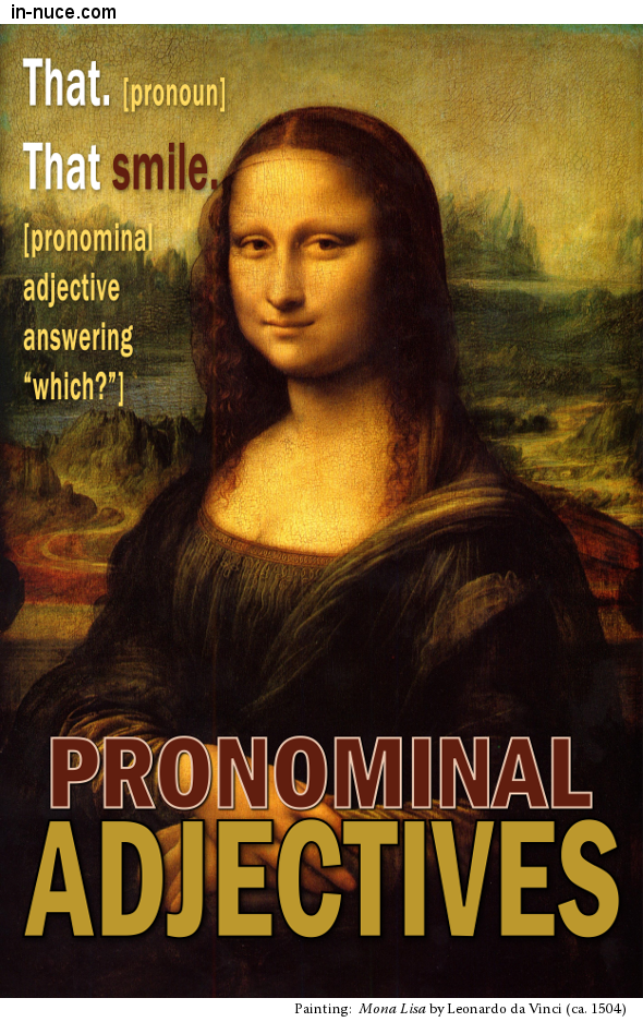 in-nuce.com  pronominal adjectives