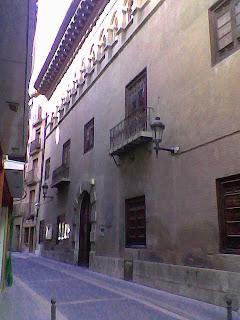 Casa de la Cultura en Barbastro (Somontano, Huesca, Aragón, España)