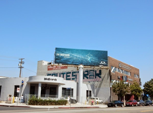 Oakley One Obsession runner billboard