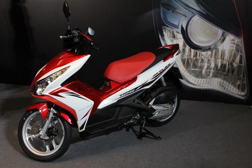 Air Blade 125cc trắng đỏ,Honda Air Blade 125 màu đỏ trắng