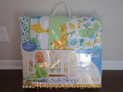 HALO Safe Sleep Crib Set review