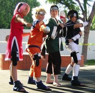 Cosplay do Naruto