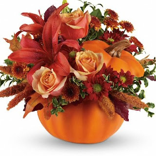 Order Thanksgiving Flowers in a Pumpkin