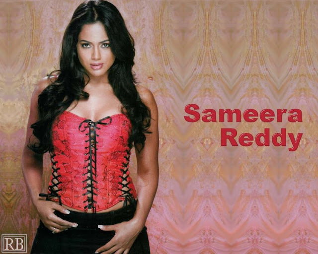 Sameera Reddy had a Taste with Apparently