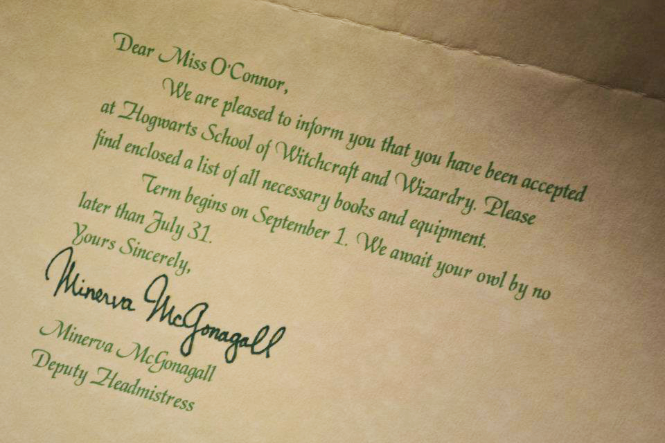 Letters from Santa & Hogwarts Acceptance Letters + Giveaway Winners ...