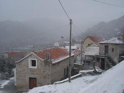 A beleza da Quarta-Feira num dia de neve
