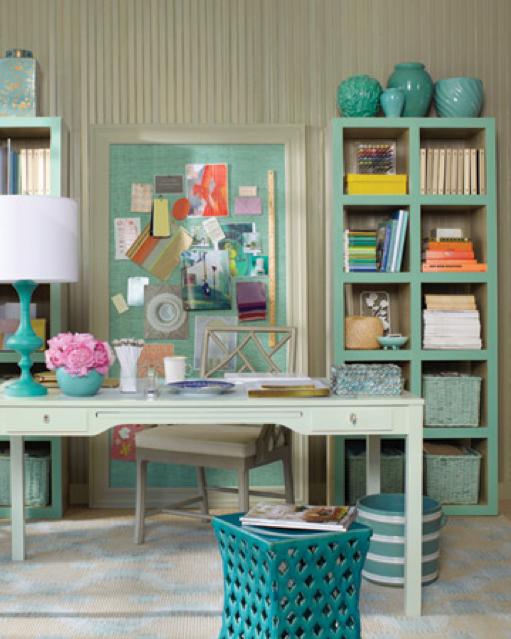 Martha Stewart Living Craft Furniture Home-Styling | Ana Antunes: Small office areas - Pequenos espaços de ...