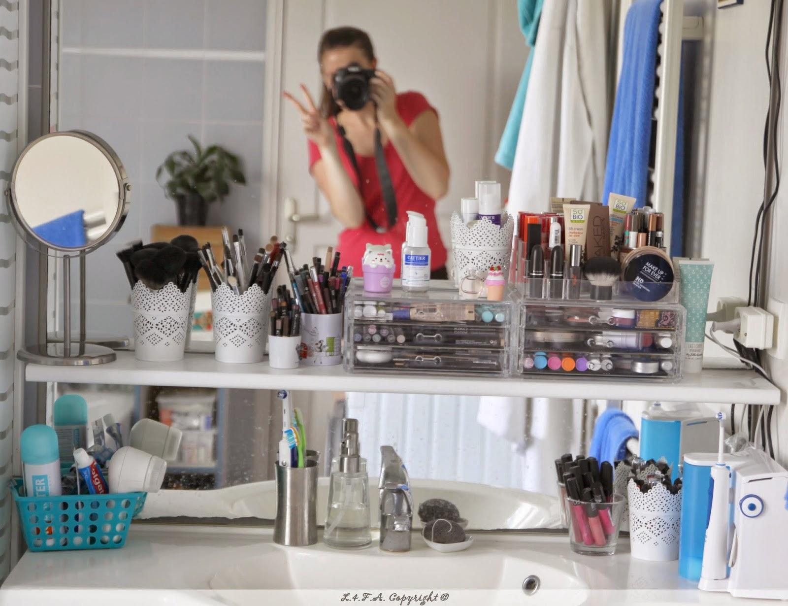 Les Quatre Fers En L 39 Air Un An Apr S Mon Nouveau Rangement Maquillage