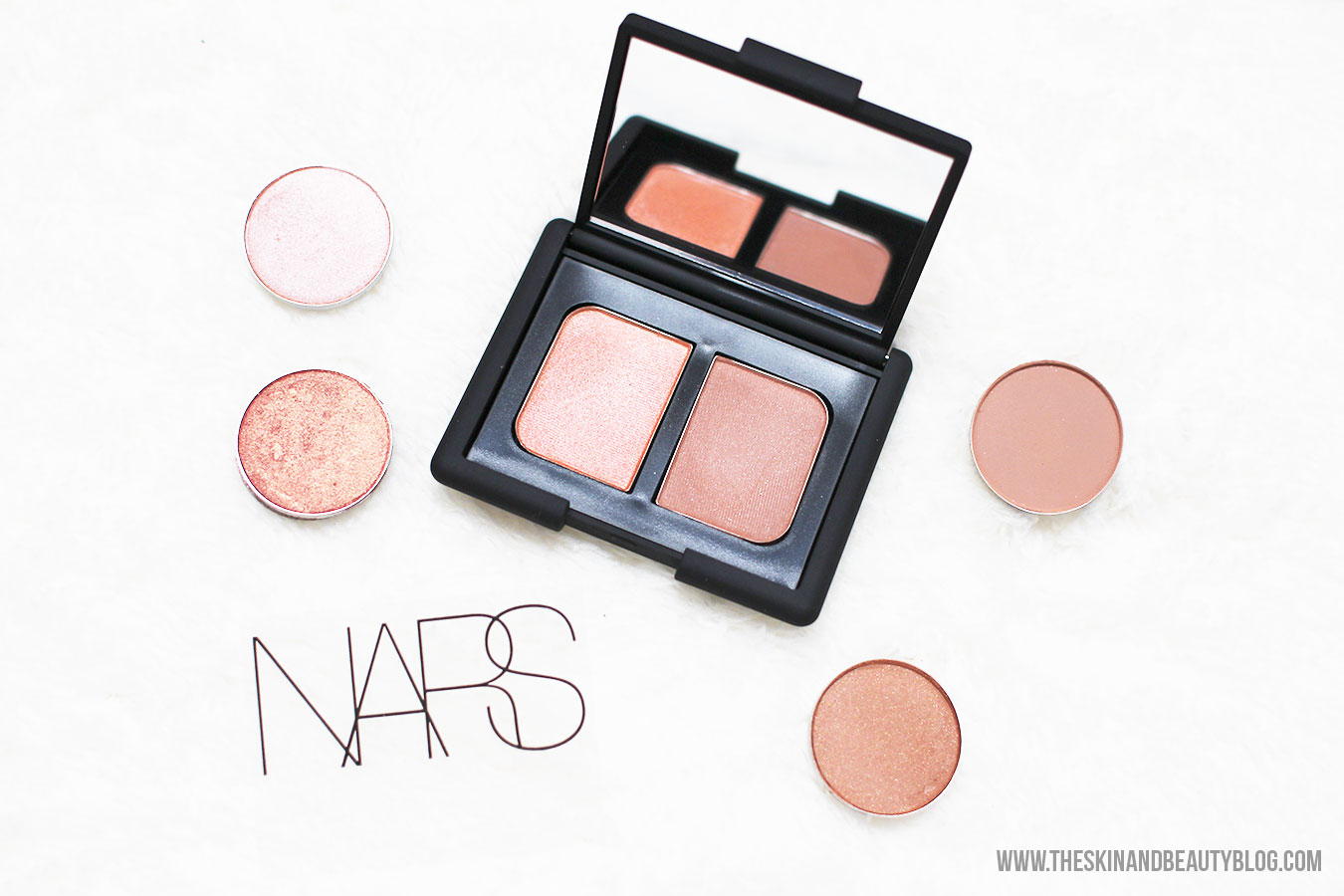 NARS St-Paul-De-Vence Duo Eyeshadow Review, Comparison Swatches