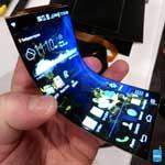Novo celular com tecnologia flexível