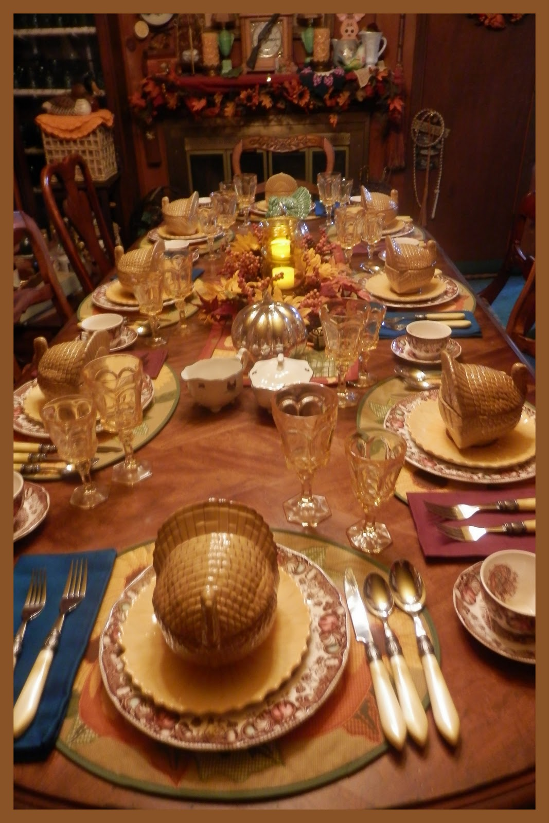 Pioneer thanksgiving dinner How to set a thanksgiving dinner table