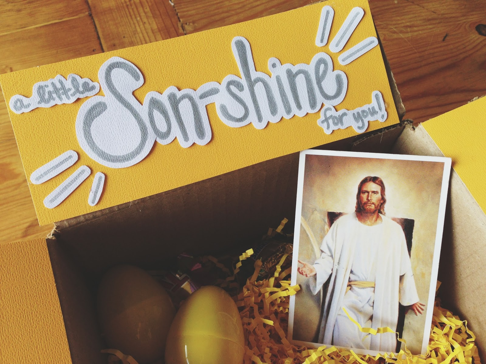 Life is sweet son shine easter package for our missionary son shine easter package for our missionary negle Images