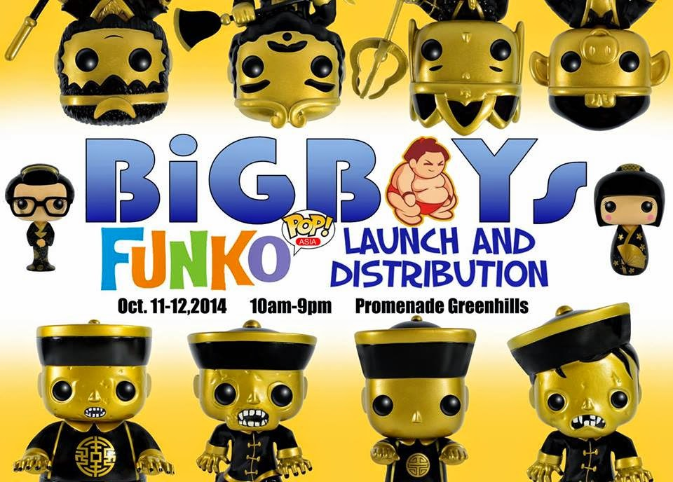 FUNKO POP ASIA invades Philippines via Bigboys toystore