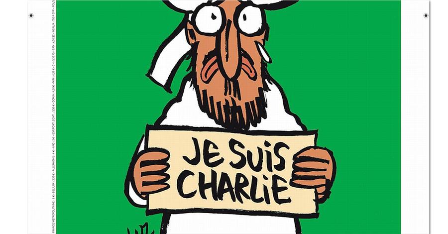 Charlie Hebdo karikatür dergisi Hz Muhammed karikatürü