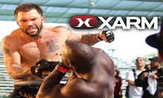 Screenshots of the XARM Extreme Arm Wrestling for Android tablet, phone.