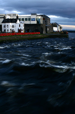 River Corrib from Wolfe Tone bridge, Galway
