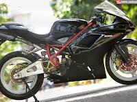 Modifikasi Honda Tiger Revo 2008 Cilacap, Kejar Ducati 1198 SP
