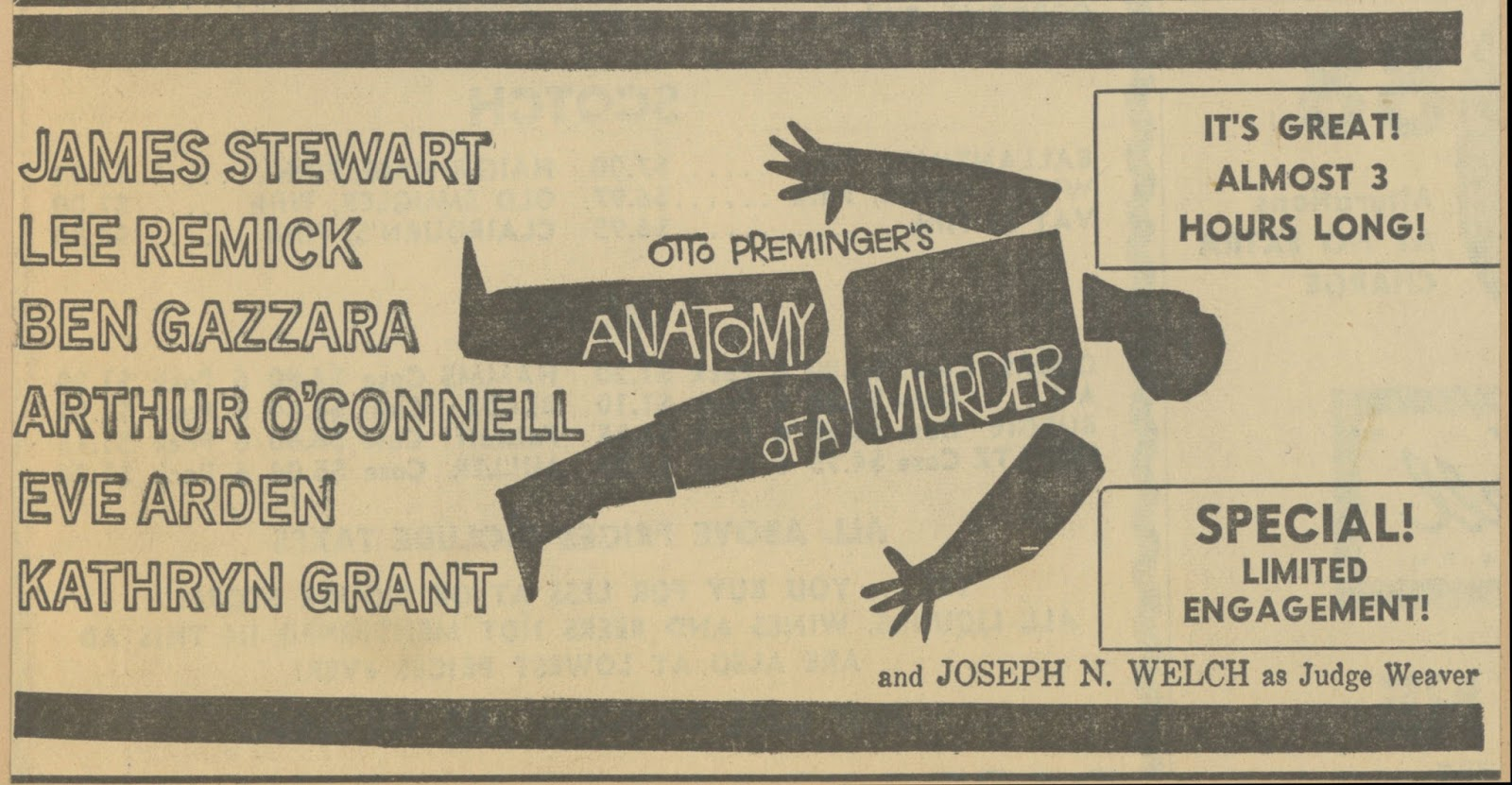 Magnificent The Anatomy Of A Murder Composition - Human Anatomy ...