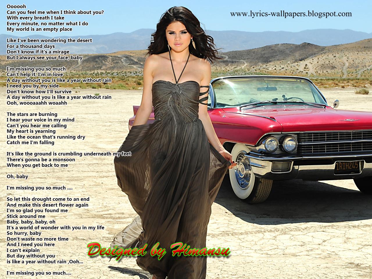 A Year Without Rain Lyrics - Selena Gomez - YouTube