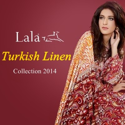 Lala Turkish Linen Winter Collection 2014