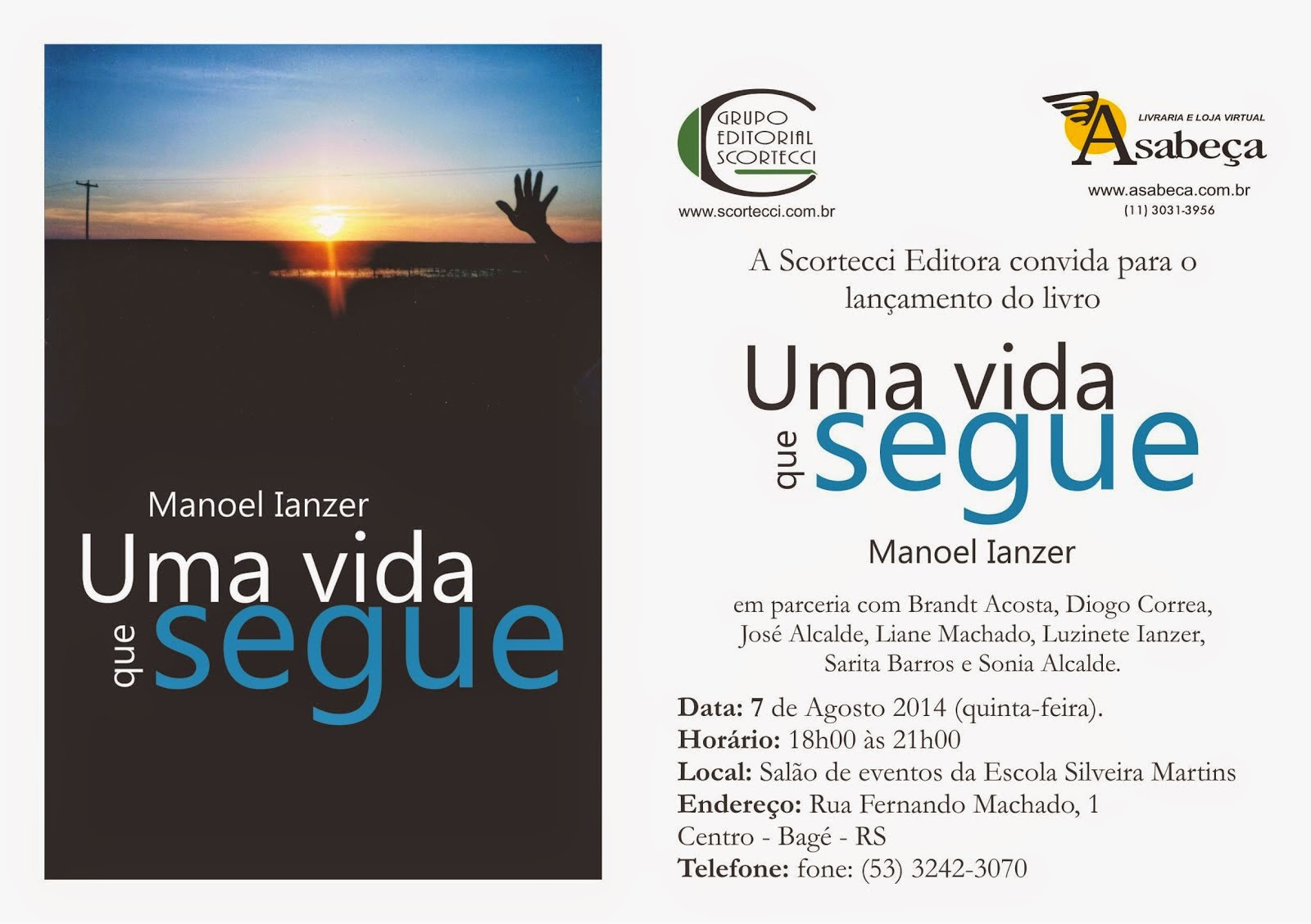 Convite Bagé