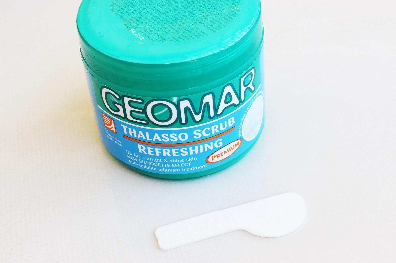 Geomar, Thalasso Scrub, Odświeżający peeling do ciała