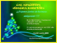 cartel CAL amigurumi enigma navideño