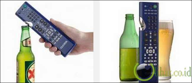 TV Remote and Bottle Opener