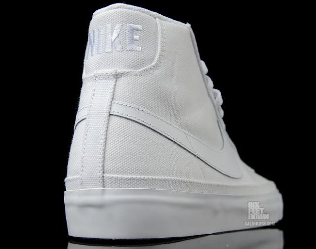 all white nike blazer