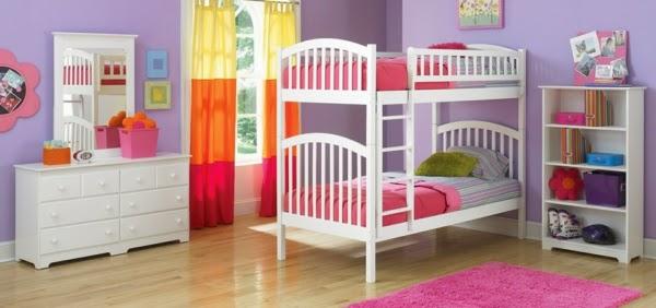 Fotos de dormitorios infantiles para dos hermanas - Cortinas dos hermanas ...