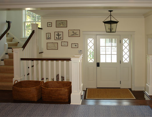 Front Foyer With Stairs : Trisha troutz peter zimmerman architects